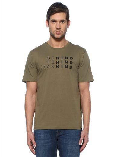 7 For All Mankind Polo Yaka T-shirt Haki
